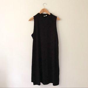 Gap Black Ribbed knit Dress